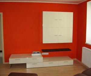 Obývací stěna ve Frýdku-Místku