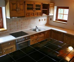 Kuchyně - chata Veřovice